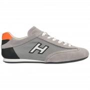 Hogan Scarpe sneakers uomo camoscio olympia