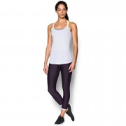 Under Armour Women's Fly By Racerback Run Tank - White - L - White