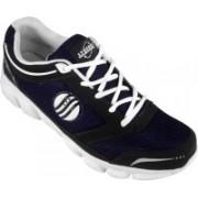 Action White Blue Sport running Shoe -7153 Walking Shoes For Men(White)