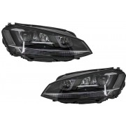 Set Faruri Lupa Retrofit Xenon si Led DRL VW Golf VII 5G