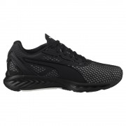 Women's Puma IGNITE 3 Running Shoes - Black/White
