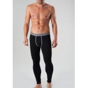 Geronimo Long Johns Long Underwear Pants Black/Grey 1265J6