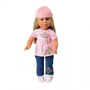 Today s Girl 5 Piece Fun and Flowers Clothing Set with Flowered Shirt, Jeans, and Hat Fits All 18 Inch Dolls by Constructive Playthings