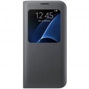 Galaxy S7 Edge S view cover zwart EF-CG935PBEGWW
