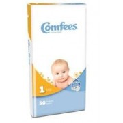 Baby Diaper Comfees Tab Closure Size 1 Disposable Qty 200