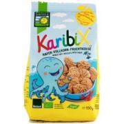 Karibix biscuiti BIO din faina integrala de ovaz cu fructe 150g Bohlsener Muhle