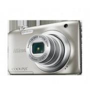 Nikon Camara Nikon Coolpix A100 Plata+Palo Selfie