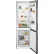 Combina frigorifica Electrolux LNT5MF32U0, No Frost, 324 litri, Control electronic, Racire rapida, Inghetare rapida, Clasa energetica A+, H 186 cm, Aspect Inox antiamprenta