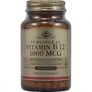 Solgar Vitamin B12 Sublingual 1000 Mcg - 250 Nuggets
