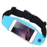 """Blue Birds Stylish And Cool Sports Waist Bag Can Hold Mobile Up to 6"""", Keys, Money, Light Weight and Adjustable Free Size VY4 Adjustable Belt(Multicolor)"""