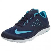 NIKE Men's FS Lite 2 Running Shoe, Binary Blue/Chlorine Blue/White, 10 D(M) US