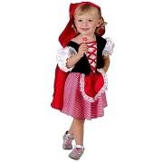 Gyermek karneváli ruha jelmez - Red Riding Hood méretét. XS