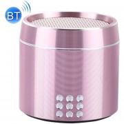 Portable Verdadero Wireless Stereo Mini Altavoz Bluetooth Con Indicador LED Y Arnés Para IPhone, Samsung, HTC, Sony Y Otros Smartphones (rosa)