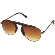 Fastrack C061BR2 Aviator UV Protection Sunglasses Brown / Brown