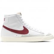 Nike Sneakers Blazer Mid '77 Vntg Bianco Rosso Bambino EUR 36,5 / US 4,5