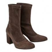 Leisure Ma&Lo Stretchy Ankle Boots or Boots, 6.5 - Brown - Ankle Boots