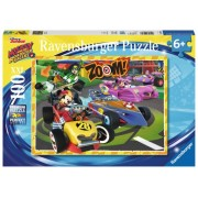 Puzzle Go Mickey, 100 Piese Ravensburger