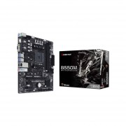 T. Madre Biostar B550MH, Chipset AMD B550M, Soporta, Procesador AMD
