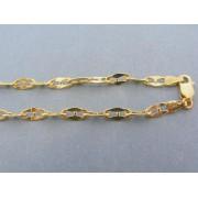 Zlatá retiazka predĺžene očká žlté zlato DR50966Z