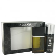 Azzaro Eau De Toilette Spray 3.4 oz / 100.55 mL + Deodorant Spray 5.1 oz / 150.82 mL Gift Set Men's Fragrance 511593