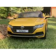 Masinuta electrica VW Arteon Editie Limitata, Scaun de piele, roti EVA, 10ah