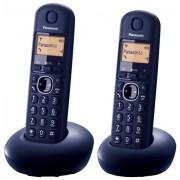Panasonic Telefon bežični KX-TGB212FXB TwinPack - Crna