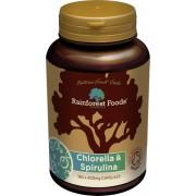 Rainforest Foods bio chlorella-spirulina 500mg tabletta 300db