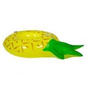 Merkloos Poppen/knuffel opblaas zwemband ananas 27 cm