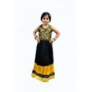 KIDZ GIRLS ETHNIC GOWNS FOR AGE OF 5 TO 12 YEARS(CHEETAH)