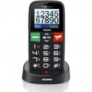 "Brondi Amico Gentile Special Telefono Cellulare Dual Sim 1,77"" Sos Base Di Ricar"