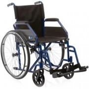 carrozzina sedie a rotelle deluxe - pieghevole ad autospinta - ruote p