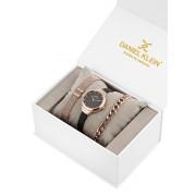 Ceas pentru dama, Daniel Klein Gift Set, DK11796-4