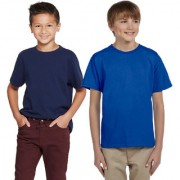 Cliths Sport tshirts For Kids/Royal Blue And Navy Blue Boys Cotton Combo Tshirts