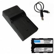 Ismartdigi FM500H bateria + cargador micro USB para Sony NP-FM500H
