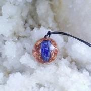 Pandantiv cupru si lapis lazuli