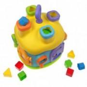 Casuta de construit Double Fun cu forme colorate - 209