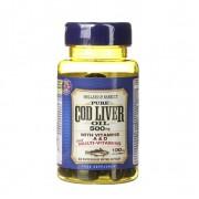 Ulei de Cod 500 mg și multivitamine 60 capsule