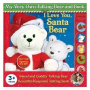 My Very Own Sweet and Cuddly Holiday Talking Bear and Book