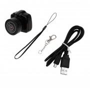 EY Más Pequeño Mini Cámara Videocámara Webcam Video RecordEY DVR Para La Seguridad Negro New SupEY Mini Videocámara De La Cámara De Vídeo Grabadora Espía Oculto Agujero DVR.