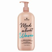 Schwarzkopf Professional Mad About Waves Sulfate-Free Cleanser безсулфатен шампоан За къдрава и чуплива коса 1000 ml