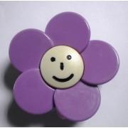 Butoni Mobila Floare Mov