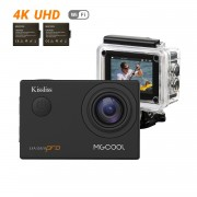 MGCOOL Camera Video Sport 4K,2 Baterii,Slow Motion,WIFI