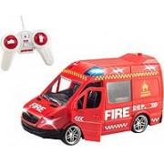 RC Távirányítós Tűzoltó autó Fire 2WD 20cm - No.368-8