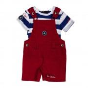 Aeropilote Yacht Club piros fiú öltözék
