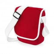 Taška přes rameno Bag Base Mini Reporter Bag - červená-bílá