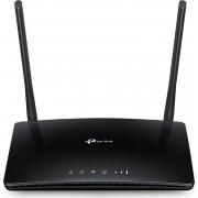 TP-Link Tl-Mr6400 Modem Router Wifi Wireless Wan Slot Per Scheda Sim 3g / 4g Lte Lan 10/100 Mbits 2 Antenne Colore Nero - Tl-Mr6400