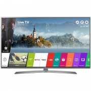 Televizor Smart LED LG 123 cm Ultra HD 49UJ670V, WiFi, USB, CI+, Silver