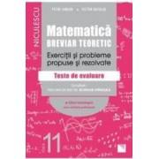 Matematica - Clasa 11 - Breviar teoretic filiera tehnologica - Petre Simion