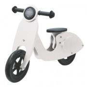 Jamara Kids Loopfiets - Houten scooter, wit - Wit