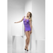 Rochie Mini Slashed mov